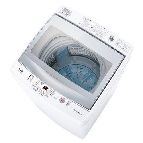 AQUA AQW-GS70J(W) 簡易乾燥機能付き洗濯機 (洗濯7.0kg) ホワイト