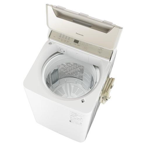 パナソニック NA-FA100H9-N 全自動洗濯機 (洗濯・脱水10kg) シャンパン