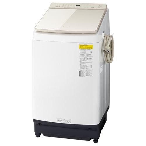 パナソニック NA-FW100K9-N 洗濯乾燥機 (洗濯10kg 乾燥5kg) シャンパン