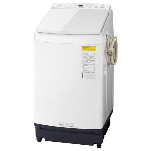 パナソニック NA-FW80K9-W 洗濯乾燥機 (洗濯8kg 乾燥4.5kg) ホワイト