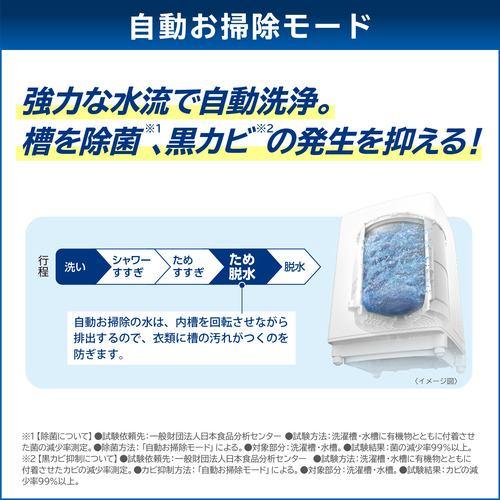 東芝 AW-10DP1-W 全自動洗濯機 ZABOON (洗濯10kg) グランホワイト