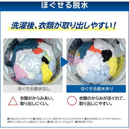 東芝 AW-10VH1-T 縦型洗濯乾燥機 ZABOON (洗濯10kg 乾燥5kg) グレインブラウン