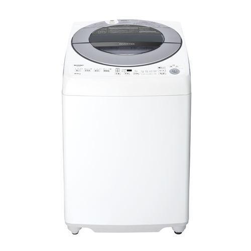シャープ ESGV8F インバーター洗濯機 ステンレス穴なし槽 (洗濯8kg) シルバー系