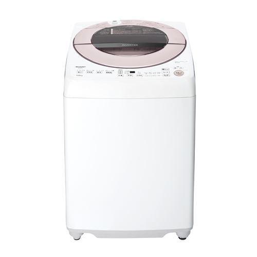 シャープ ESGV7F インバーター洗濯機 ステンレス穴なし槽 (洗濯7kg) ピンク系