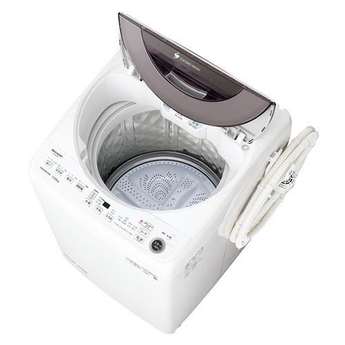シャープ ESGW11F インバーター全自洗濯機 ステンレス穴なし槽 (洗濯11.0kg) シルバー系