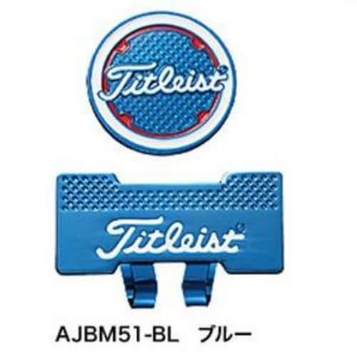 タイトリスト キャップクリップマーカー AJBM51 【マーカー】 ブルー