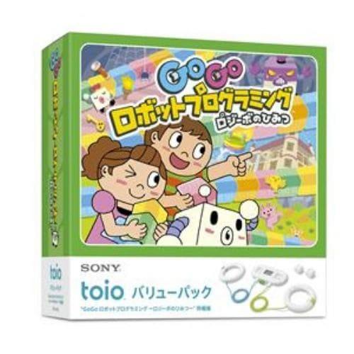 toio バリューパック  GoGo ロボットプログラミング ~ロジーボのひみつ~ 同梱版