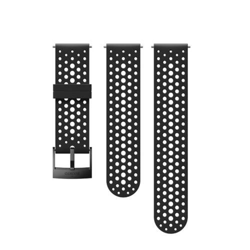 SUUNTO SS050225000 Strap 24BLACK/BS+M (ストラップ Suunto9 ほか )正規品 Suunto9/Spartan sports WHR ブラック