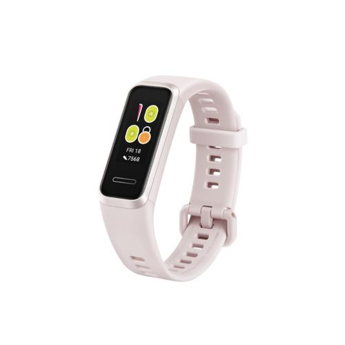 HUAWEI(ファーウェイ) Band 4 Sakura Pink(ADS-B09) 多彩なウォッチフェイス 内蔵USBプラグで簡単充電 手軽に健康管理