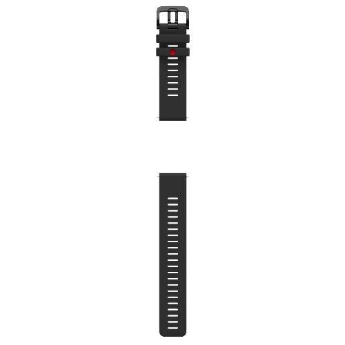 POLAR 91081738 シリコンリストバンド GRIT X、VANTAGE M M/L ブラック