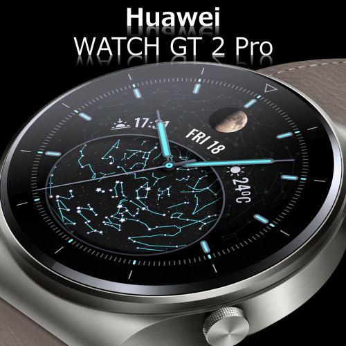 HUAWEI ファーウェイ WATCH GT 2 Pro/GR Nebula Gray VID-B19 腕時計 メンズ 心拍数 歩数 睡眠 血中酸素測定