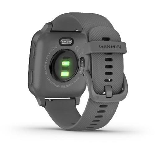 GARMIN 010-02427-70 VENU SQ GARMIN vivoシリーズ 心拍計 タッチ決済 GPS Shadow Gray/Slate