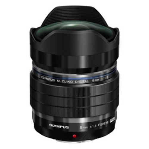 オリンパス 交換用レンズ M.ZUIKO DIGITAL ED 8mm F1.8 Fisheye PRO ブラック