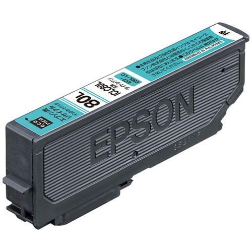 エコリカ ECI-E80L-LC ICBK80L互換リサイクルインクカートリッジ ライトシアン