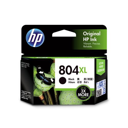 インク HP 純正 カートリッジ ヒューレット・パッカード T6N12AA HP 804XL インクカートリッジ 黒(増量)