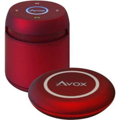 AVOX ASP-BT200DR Bluetoothポータブルスピーカー レッド