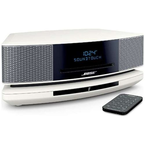 BOSE WSTIVAW WiFi対応 ブルートゥーススピーカー Wave SoundTouch music system IV アークティックホワイト