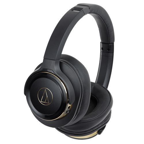ヘッドホン オーディオテクニカ    ATH-WS660BT BGD ワイヤレスヘッドホン 重低音 マイク対応 ブラックゴールド
