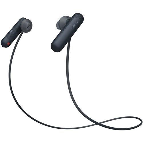 ヘッドセット ソニー    WI-SP500-B ワイヤレスステレオヘッドセット ブラック
