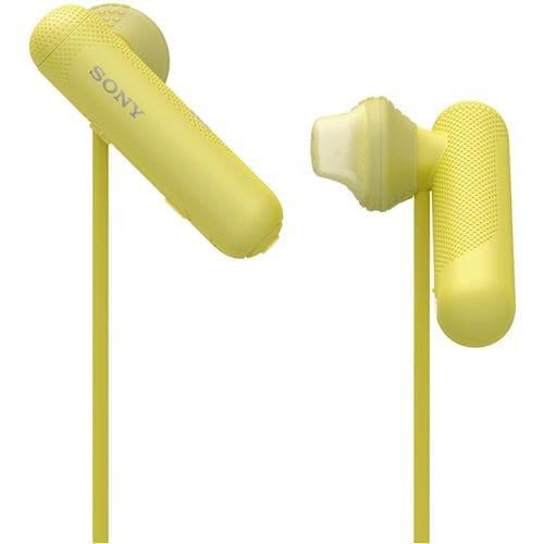 ヘッドセット ソニー    WI-SP500-Y ワイヤレスステレオヘッドセット イエロー