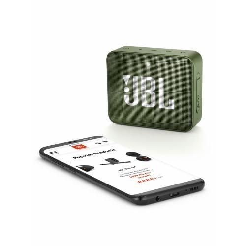 JBL JBLGO2GRN 防水対応ポータブルBluetoothスピーカー 「JBL GO 2(ゴー2)」 グリーン