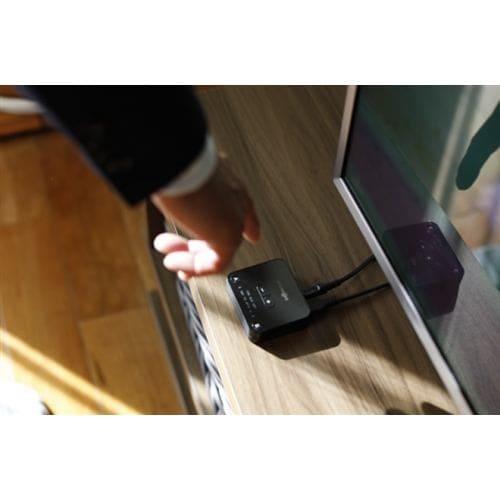 ヘッドホン アフターショックス 骨伝導   AfterShokz AFT-EP-000021 骨伝導テレビヘッドホン トランスミッターセット