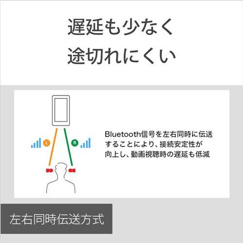 イヤホン ソニー    WF-XB700 BZ ワイヤレスステレオヘッドセット B ワイヤレスイヤホン