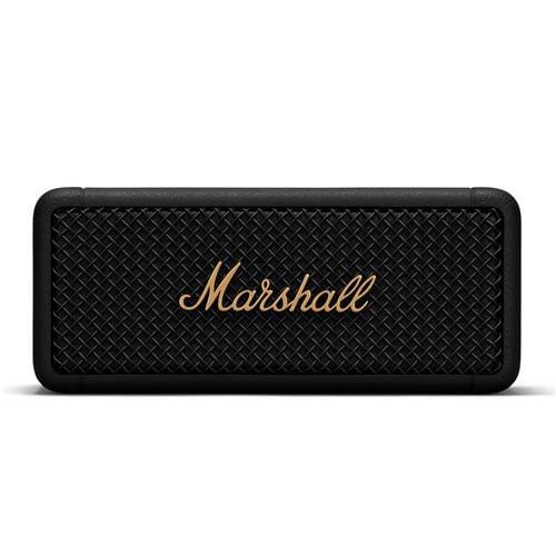 Marshall Emberton Black and Brass ワイヤレススピーカー