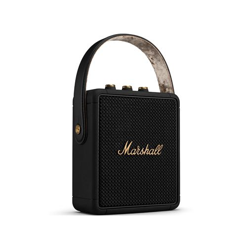 Marshall STOCKWELL2 Black and Brass ワイヤレススピーカー