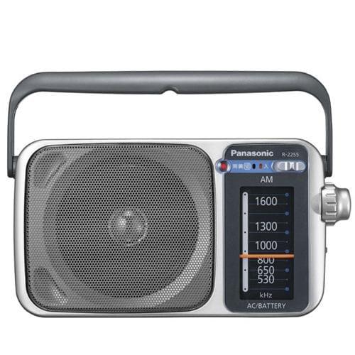 パナソニック R-2255-S AM 1バンドラジオ