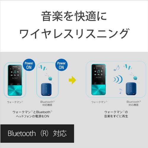ソニー NW-S313-PI ウォークマン Sシリーズ[メモリータイプ] 4GB ライトピンク WALKMAN