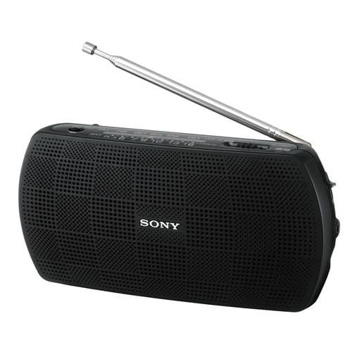 ソニー SRF-19-B ステレオポータブルラジオ ブラック