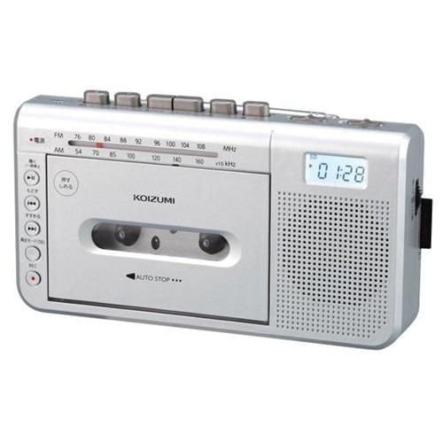 コイズミ SDD-1750/S モノラルラジカセ