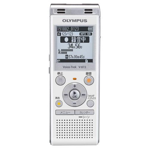 オリンパス V-872 WHT ICレコーダー Voice-Trek  ホワイト