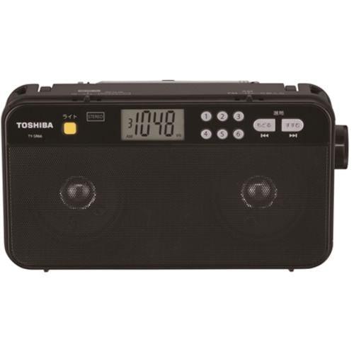 東芝 TY-SR66-K FM/AMラジオ ブラック