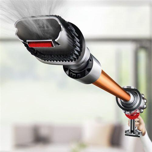 【訳あり処分品】ダイソン SV12FF コードレスサイクロン掃除機 Dyson v10 Fluffy   ニッケル/アイアン/コッパー