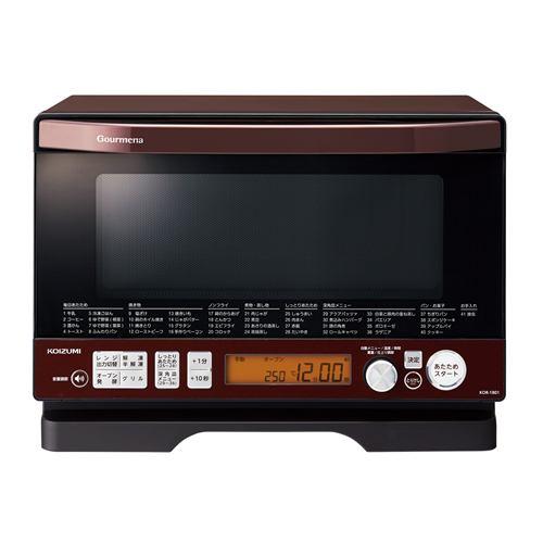 コイズミ 電子レンジ オーブンレンジ KOR1801 レッド(R)
