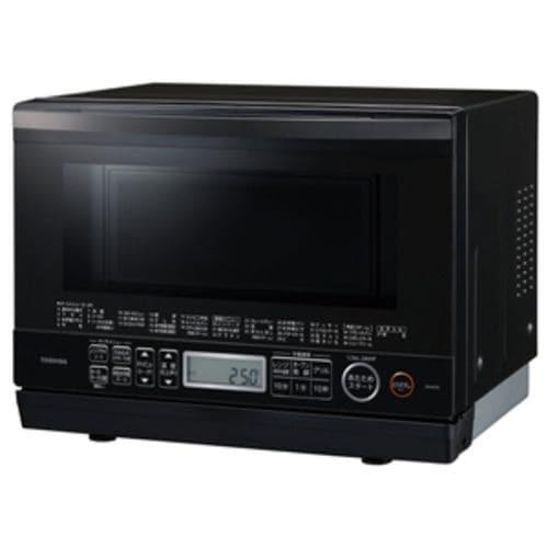 東芝 電子レンジ オーブンレンジ ER-VD70(K) 26L ブラック スチーム 石窯ドーム