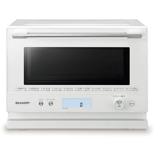 シャープ 電子レンジ オーブンレンジ RE-WF181-W PLAINLY 18L ホワイト系