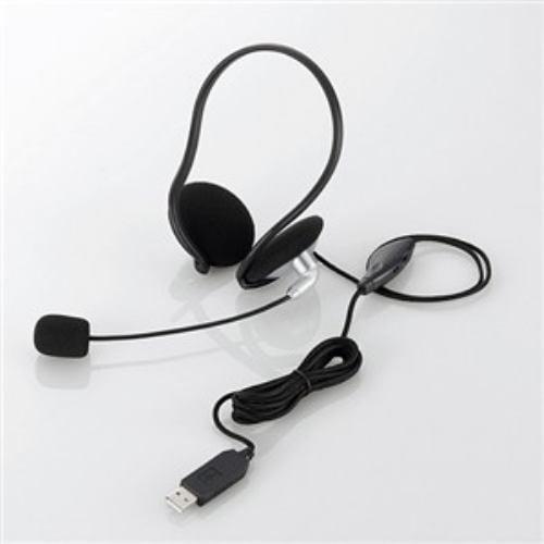 エレコム USBヘッドセット(ネックバンドタイプ) HS-NB05USV