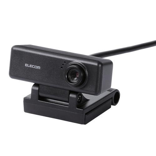 Webカメラ エレコム PC パソコン UCAM-C310FBBK ワイド画面HD対応100万画素Webカメラ