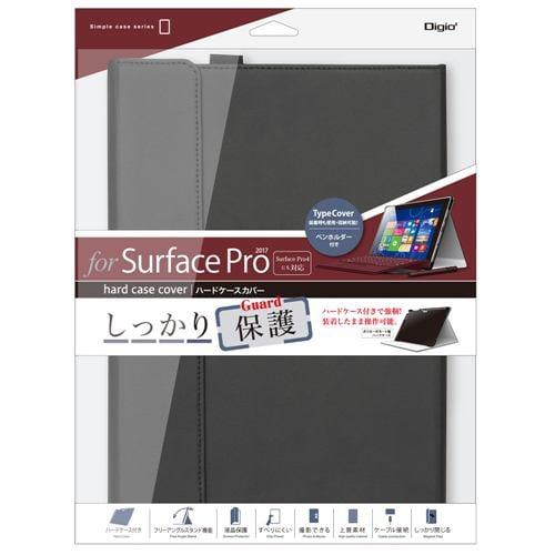 ナカバヤシ TBC-SFP1707BK SurfacePro用ハードケースカバー ブラック