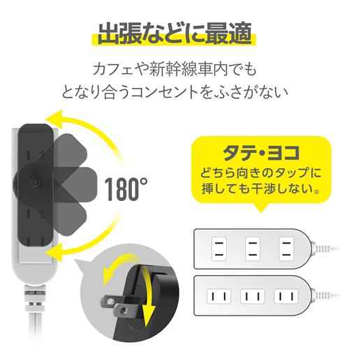 エレコム ACDC-PD0465BK Power Delivery対応USB AC充電器(65W)