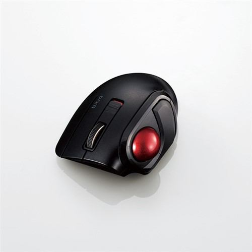 マウス エレコム Bluetooth 無線 ワイヤレス M-MT1BRSBK Bluetooth(R)モバイルトラックボール(親指操作タイプ)