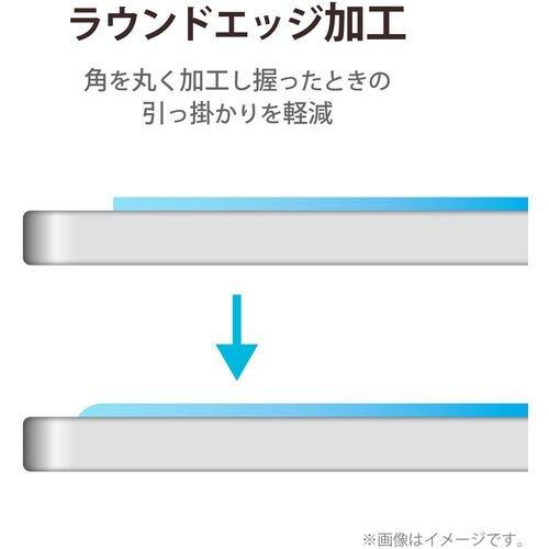 エレコム TB-A21PLFLGG iPad Pro 12.9inch 第5世代 2021年モデル 保護フィルム リアルガラス 0.33mm