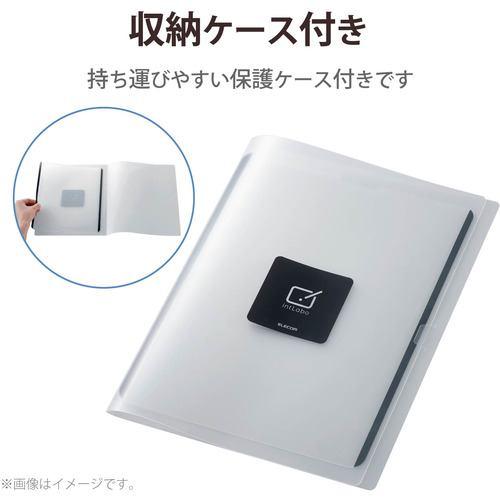 エレコム TB-A21PLFLNSPLL iPad Pro 12.9inch 第5世代 2021年モデル 保護フィルム ペーパーライク 反射防止 ケント紙タイプ 着脱式