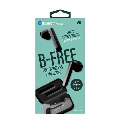 アクセス TWS1226BK 完全ワイヤレスイヤホン B-FREE ブラック