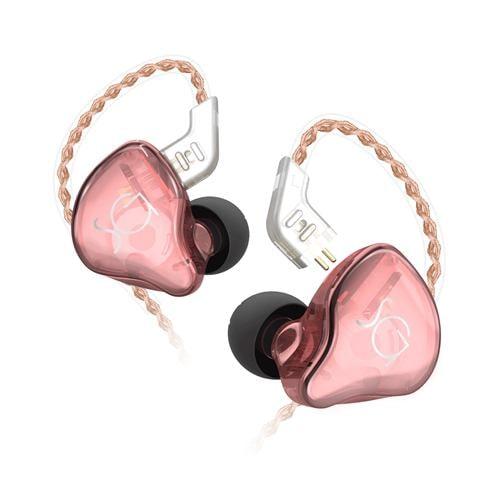 SoundsGood SE01PI ハイブリッドカナル型イヤホン   ピンク