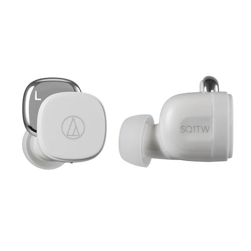 オーディオテクニカ ATH-SQ1TW WH ワイヤレスイヤホン ホワイト