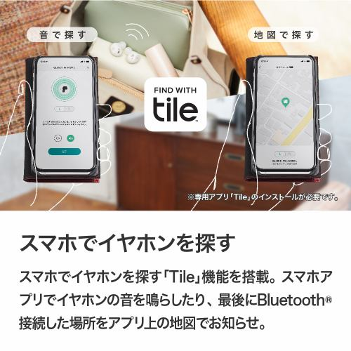 GLIDiC Sound Air TW-5100/ホワイト SB-WS57-MRTW/WH マイク対応/ワイヤレス(左右分離)/Bluetooth/外音取り込み機能/紛失防止機能